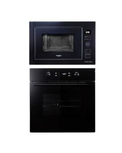 Whirlpool Oven + Microwave Combo BLACK Finish WHOM-01