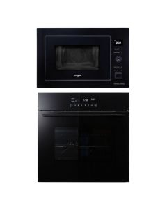 Whirlpool Oven + Microwave Combo BLACK Finish WHOM-03