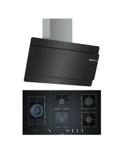 Bosch Chimney And Hob Combo BLACK GLASS COMBO 31