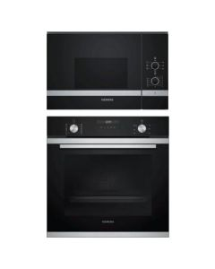 Siemens Oven And Microwave Combo BLACK GLASS COMBO 71