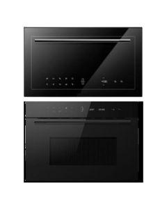 Hafele Oven + Microwave Combo BLACK Finish HAOM-02
