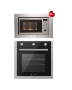 Faber Oven + Microwave Combo STAINLESS STEEL Finish FAOM-05