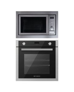 Faber Oven + Microwave Combo STAINLESS STEEL Finish FAOM-03