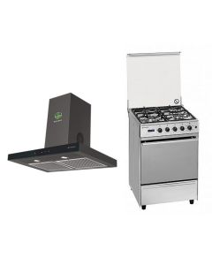 Faber Chimney + Cooking Range + Microwave Combo STAINLESS STEEL Finish FACCRM-02