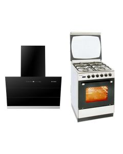 Faber Chimney + Cooking Range + Microwave Combo STAINLESS STEEL Finish FACCRM-01