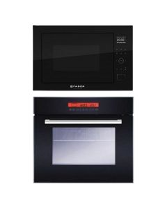 Faber Oven + Microwave Combo BLACK Finish FAOM-01