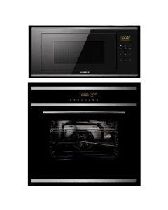 Hafele Oven + Microwave Combo BLACK Finish HAOM-01