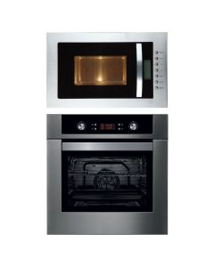 Hafele Oven + Microwave Combo STAINLESS STEEL Finish HAOM-04
