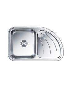 Nirali Sink ULTIMO RIGHT HAND DRAIN BOARD (34 x 21 inches)